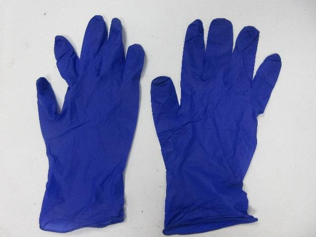 2.2mil (2.7g-3.1g) Powder Free Nitrile Examination Gloves (Small/7, Cobalt Blue)