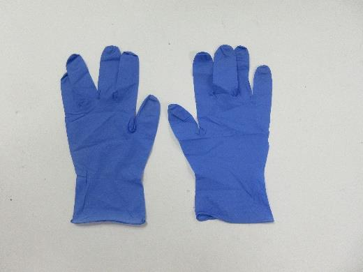 3.2mil (3.3g-3.7g) Powder Free Nitrile Examination Gloves (Large/9, Ice blue)